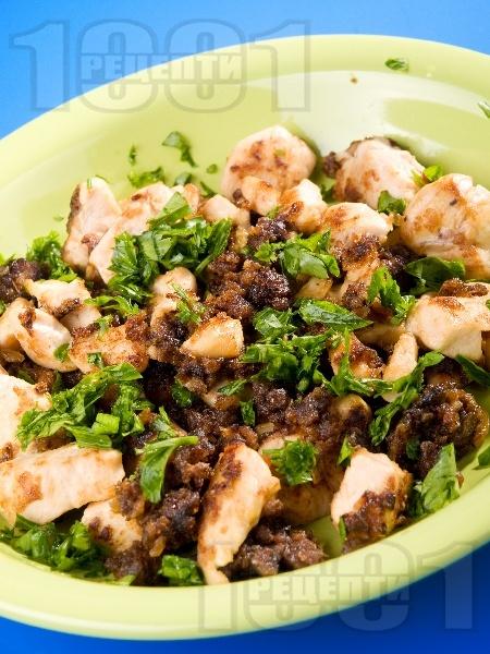 Пиле с масло и галета - снимка на рецептата